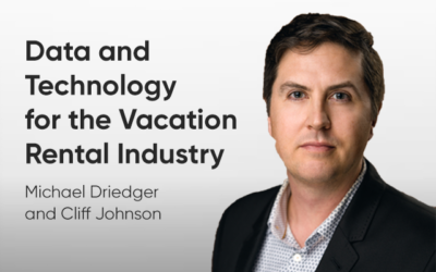 Data and Technology for the Vacation Rental Industry